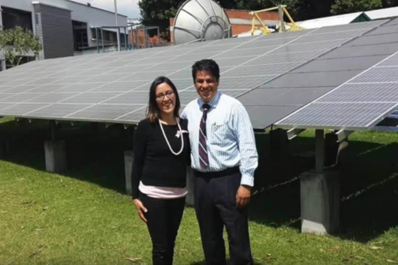 Cadena Renovable construye una red de contactos para el consumo de energía limpia y así mitigar el cambio climático - Foto: captura de pantalla / Cadena Renovable / Youtube