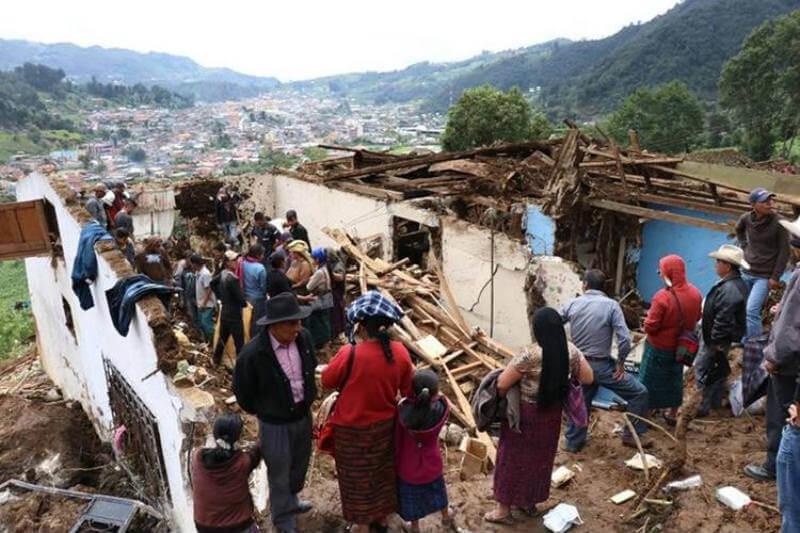 La época lluviosa recuerda la alta vulnerabilidad a los efectos del cambio climático en Guatemala.