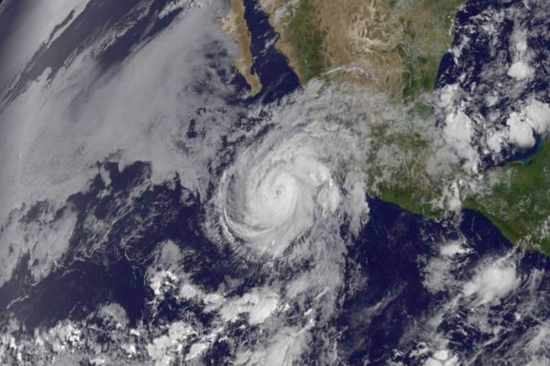 Este año se espera que se formen 27 ciclones tropicales, de los cuales 3 o 5 posiblemente alcanzarán tierras mexicanas.