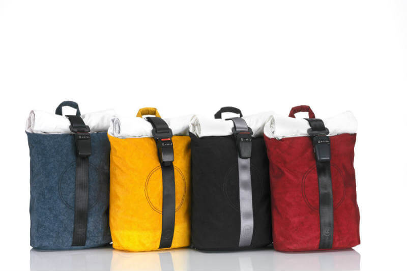 La empresa se encarga de darle una segunda vida a los cinturones de seguridad y bolsas de aire de los autos.