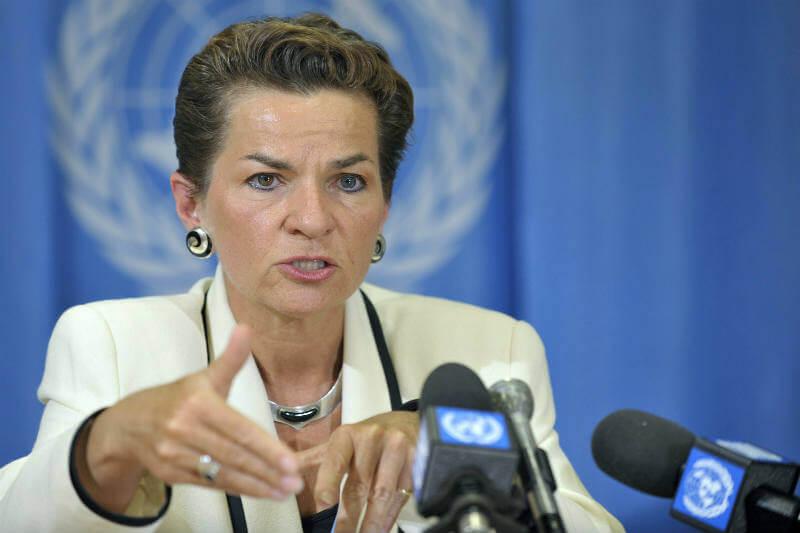 Christiana Figueres advierte que nos queda poco tiempo para mitigar los efectos letales del calentamiento global.