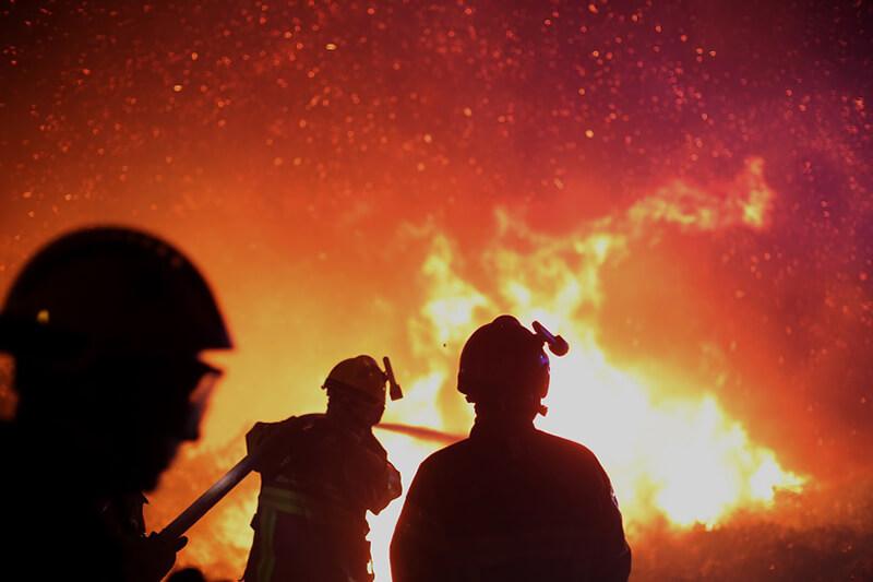 En 2017 se han presentado el triple de incendios que el acumulado de los últimos años.