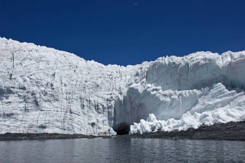 En 55 años, el país ha perdido el 61% de los 1,035 kilómetros cuadrados de glaciares que tenía en dieciséis cordilleras nevadas.