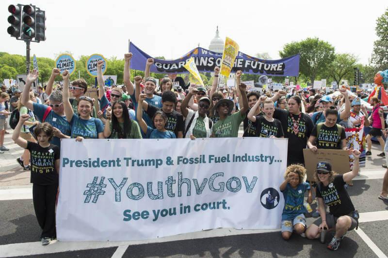 La demanda climática fue presentada por 21 niños y jóvenes en el 2015, un juez federal ha fijado el juicio para el 5 de febrero de 2018.