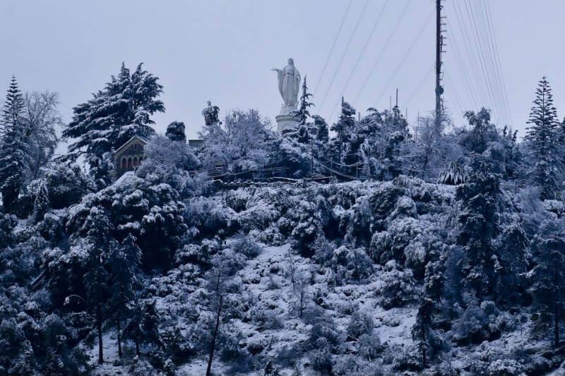 Temperaturas bajo cero han transformado el panorama en países como Chile, Brasil y Argentina.