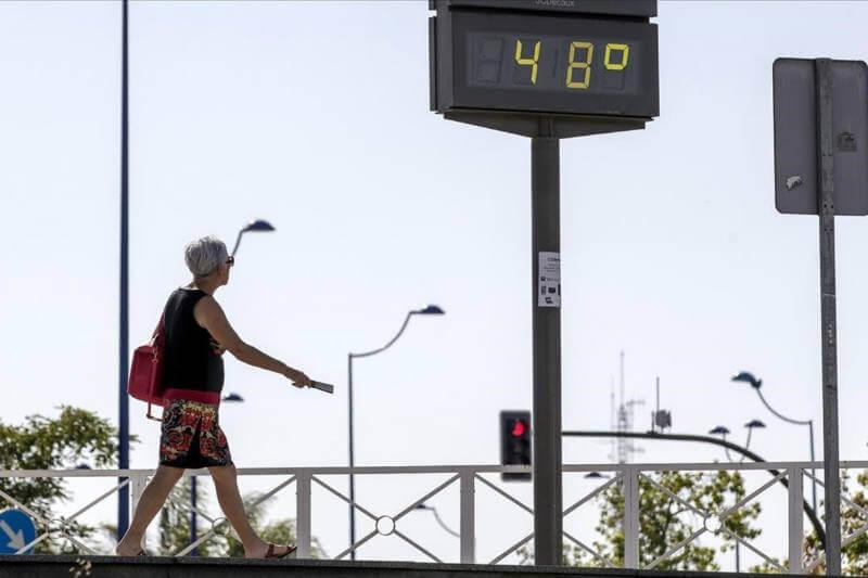 Asia central y Europa occidental y central han sido las regiones más afectadas por el calor intenso.
