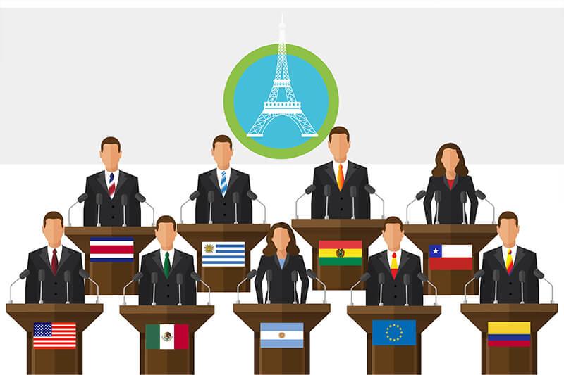 Compromisos del mundo hispanohablante en el Acuerdo de París