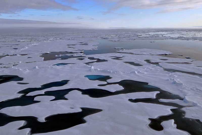 Gráfico demuestra el aumento de las temperaturas en los últimos 100 años