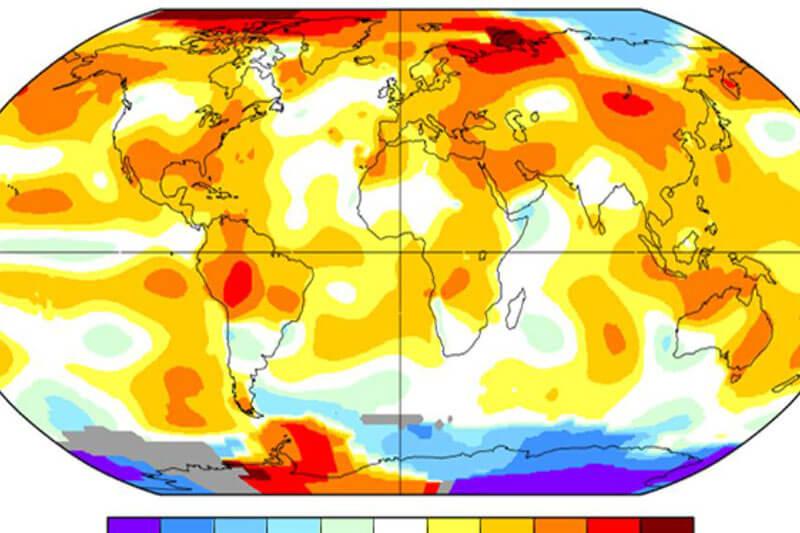 Los meses de julio de los últimos dos años han sido los más calientes de la historia