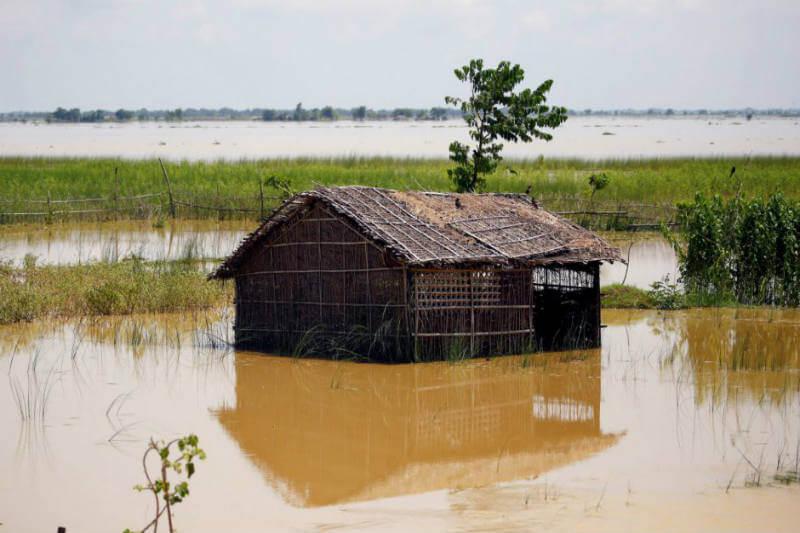 Muchas vidas se han salvado en Nepal gracias a las alertas de texto del gobierno que permitieron a la gente huir a tiempo de la inundación.