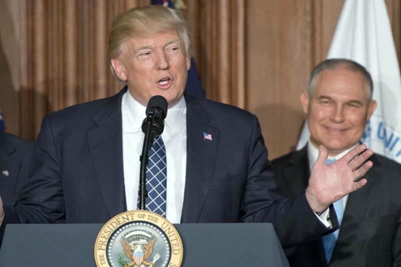 Bajo la administración de Trump las penalizaciones ambientales han disminuido.