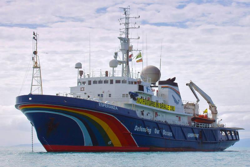 """El barco eco-amigable """"Esperanza"""" navegará por costas españolas para llevar a cabo su """"Misión salvar el clima""""."""