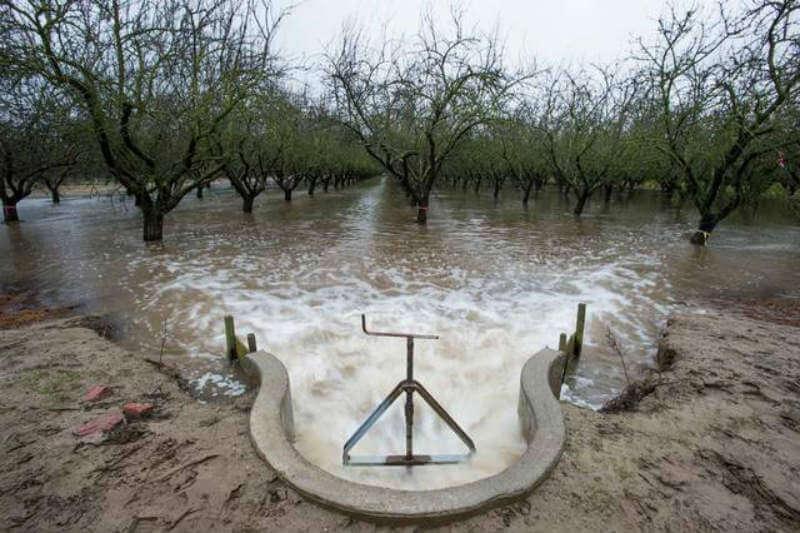 Estudio sugiere que las inundaciones podría proporcionar suficiente agua para compensar el sobregiro anual de aguas subterráneas.