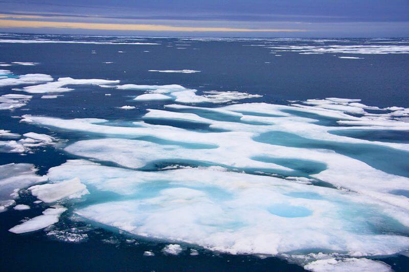 Según Mark Serreze, la extensión promedio del hielo marino no está en mínimos récord, a comparación del año 2012.