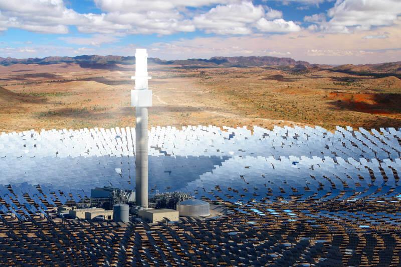 Con una inversión de $510 millones, SolarReserve es la empresa encargada en construir la planta de 150 megavatios en Port Augusta.