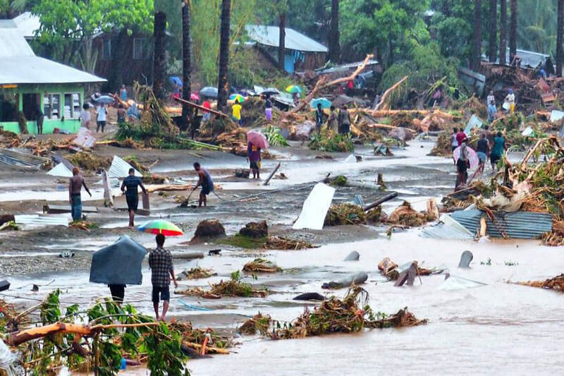 La ONU declara que los desastres naturales se han cuadruplicado en las últimas décadas.