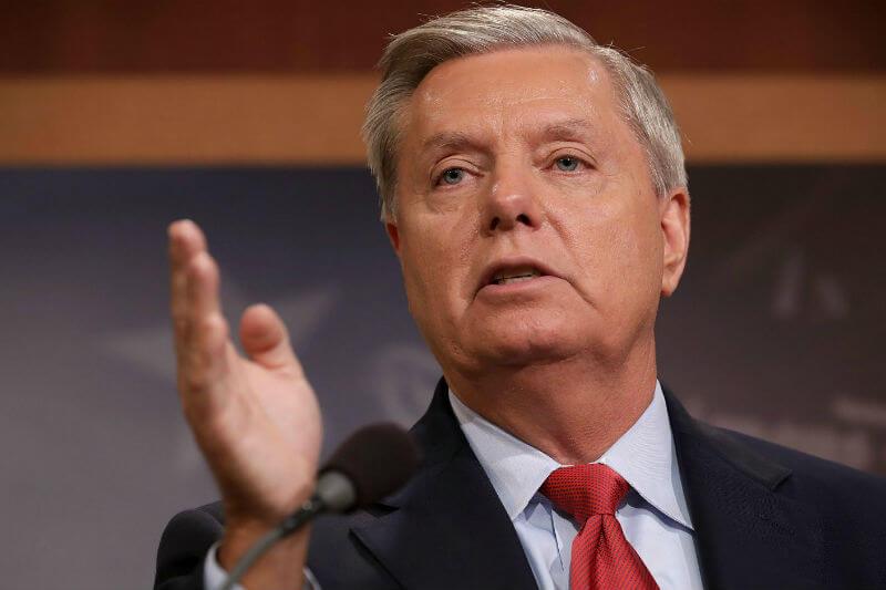 Lindsey Graham se encuentra trabajando en una legislación y llevará la idea a la Casa Blanca para su consideración.