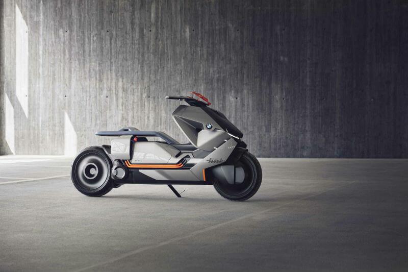 La Motorrad Concept Link es una motocicleta urbana cero emisiones, con un diseño distintivo y funciones de alta tecnología.