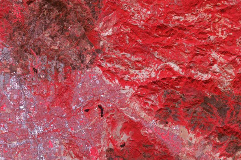 Casi 111,000 acres se quemaron por los incendios denominados Tubbs, Nuns y Atlas desde su ignición el 8 de octubre.