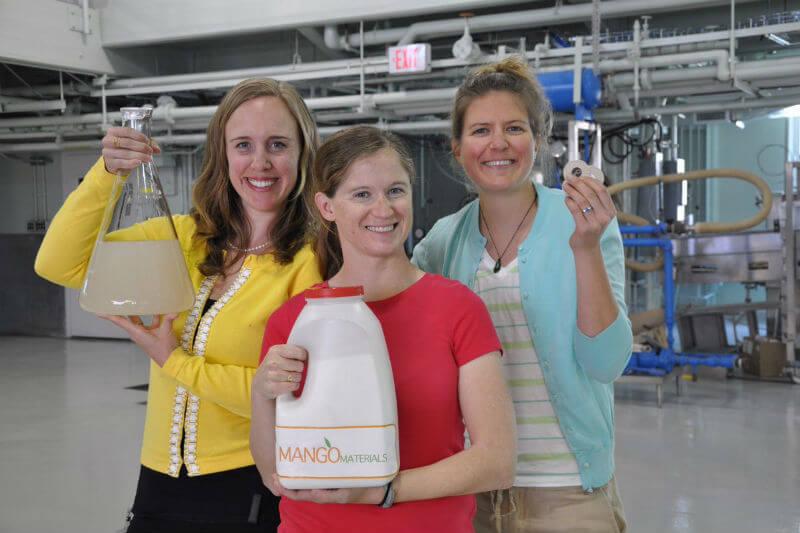 La empresa emergente de biotecnología, Mango Materials, utiliza bacterias que consumen metano para crear polímeros completamente biodegradables.