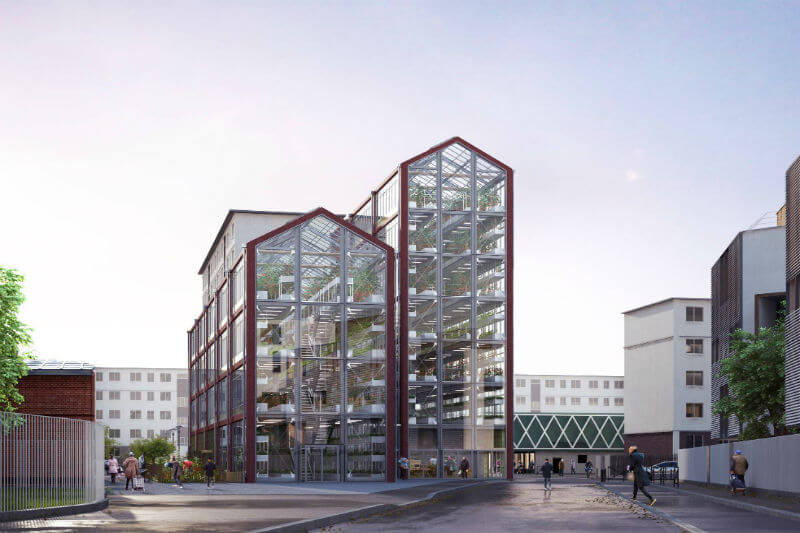 El nuevo proyecto de Ilimelgo es un huerto urbano vertical que ofrecerá productos frescos y de baja huella de carbono.