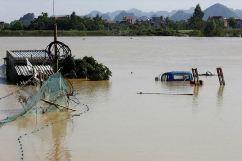 Tailandia y China han sido afectados por fuertes lluvias, pero en Vietnam ha sido el más afectado por inundaciones, las cuales ya han dejado víctimas.