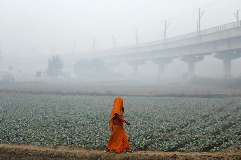 Al menos 2.5 millones de personas en India murieron debido a la contaminación en 2015, más que cualquier otro país en el mundo.