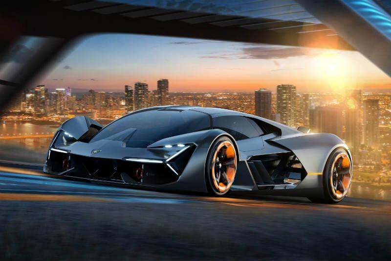 El nuevo Lamborghini Terzo Millennio es 100% eléctrico y en lugar de baterías, usará supercondensadores para el almacenamiento de energía.
