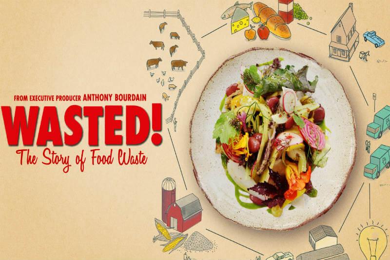 """Chef famoso presenta la película """"Wasted! The Story of Food Waste"""" que trata sobre el desperdicio de alimentos y cómo esto contribuye al cambio climático."""