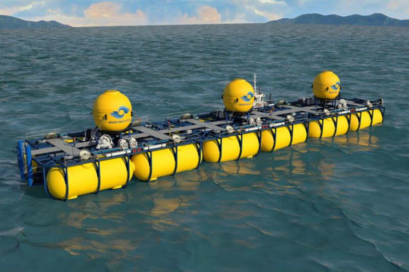 Después de nueve años, la empresa Marine Power Systems pondrá a prueba el WaveSub, un prototipo de generación de energía mareomotriz.
