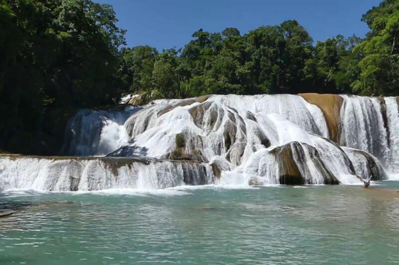 Autoridades de Chiapas registraron un área de deforestación acelerada lo que afecta el caudal del río Xanil y por ende a las cascadas de atractivo turístico.