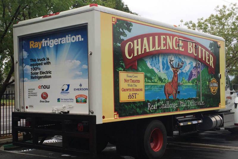 La compañía eNow presenta Rayfrigeration, la primera unidad de refrigeración solar para camiones cero emisiones.