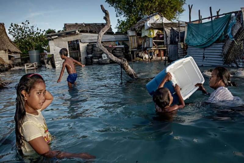 La visa de categoría humanitaria experimental podría ser introducida para reubicar a las personas desplazadas por el aumento del nivel del mar en el Pacífico.