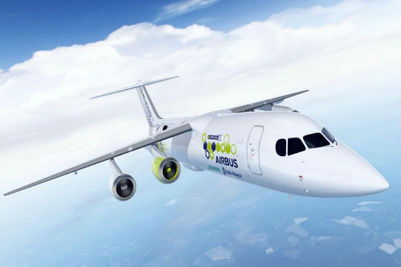 Por primera vez, las tres compañías pondrán a prueba un sistema de propulsión híbrido-eléctrico en un avión, en un vuelo de demostración para 2020.