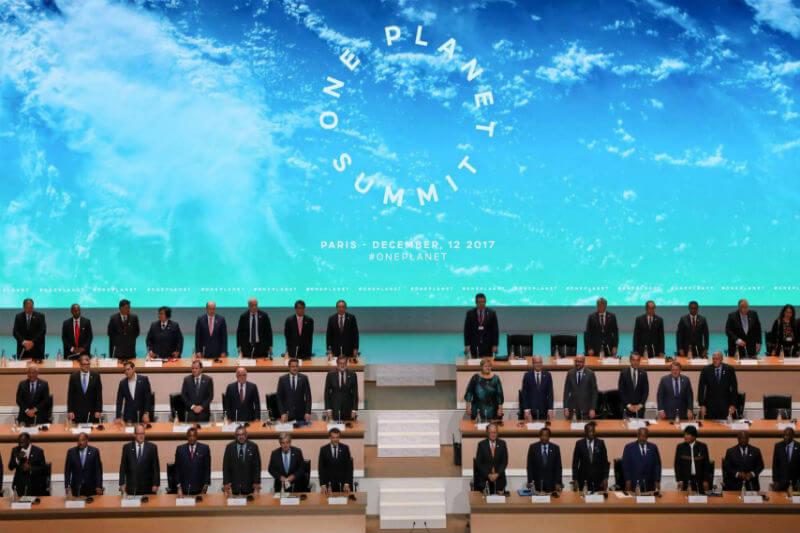 Durante la One Planet Summit, Chile, Colombia, Costa Rica y México acordaron fijar precios al carbono como política de acción contra el cambio climático.