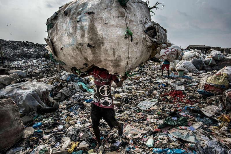 El mundo produce más de 3.5 millones de toneladas de basura al día, y esa cifra está aumentando.