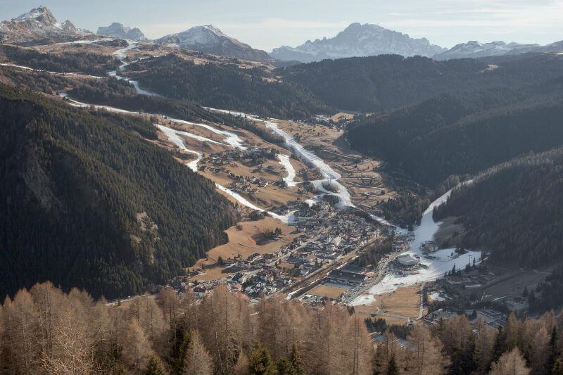 La pérdida de la belleza que una vez fueron los Alpes, es un precio justo por el daño causado por los humanos.