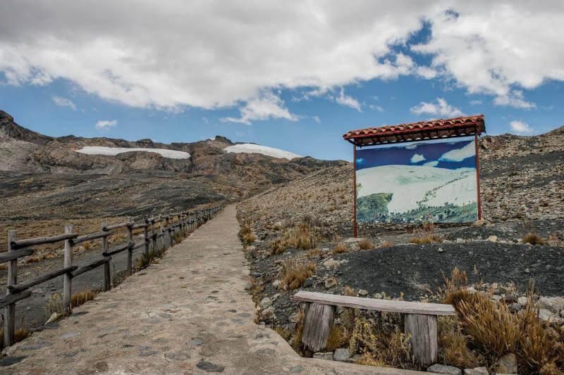 Algunas zonas desérticas en Perú se han beneficiado por el deshielo glaciar, pero ¿qué pasará cuando el flujo del agua se detenga?