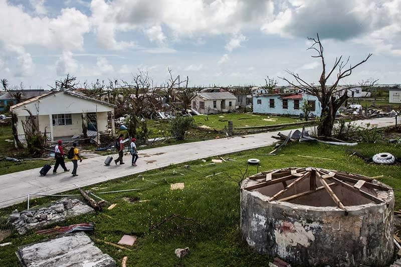 Barbuda después de Huracán Irma -Salwan-Georges