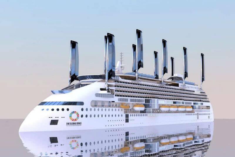 El buque incorporará lo más novedoso en tecnologías limpias que le permitirán recortar hasta un 40% las emisiones de CO2.