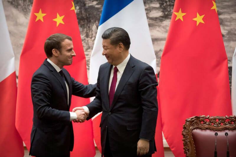 """""""Le debemos mucho a la decisión de China de permanecer en el Acuerdo de París. Está comprometida, ha cumplido con su palabra"""", Emmanuel Macron."""