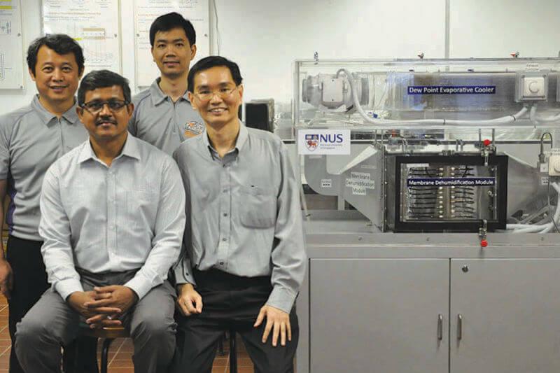 Investigadores en Singapur presentan nuevo sistema de refrigeración que podría reducir en 40% las emisiones y la necesidad de energía.