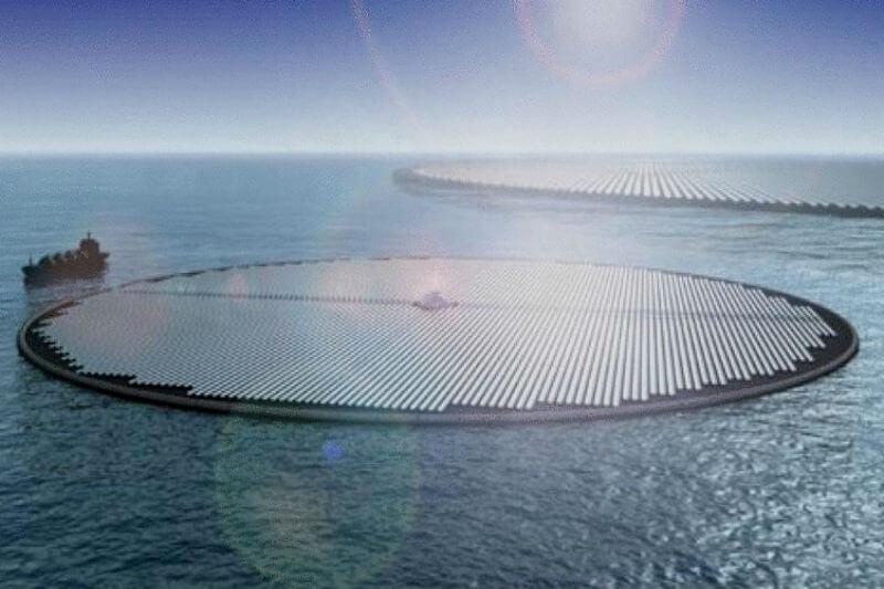 Seis empresas y centros de investigación trabajan en el diseño del parque llamado Zon-op-Zee que se materializará sobre aguas del mar del Norte en tres años.