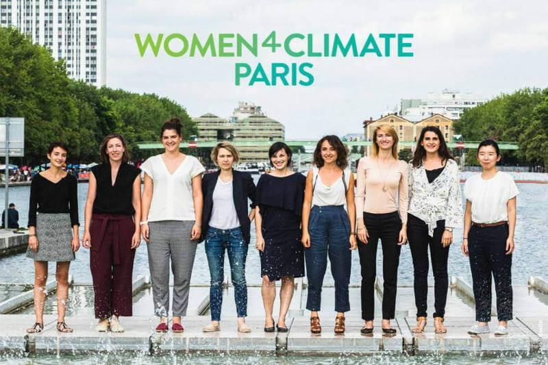 La iniciativa Women4Climate, liderada por C40 Cities y respaldada por L'Oréal, busca empoderar a la mujer para que actúe por un mundo sostenible.
