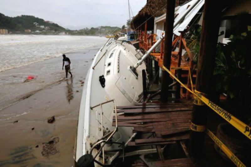 Según el Banco Mundial, casi cuatro millones de mexicanos y centroamericanos se verían obligados al destierro interno por la subida del nivel del mar.