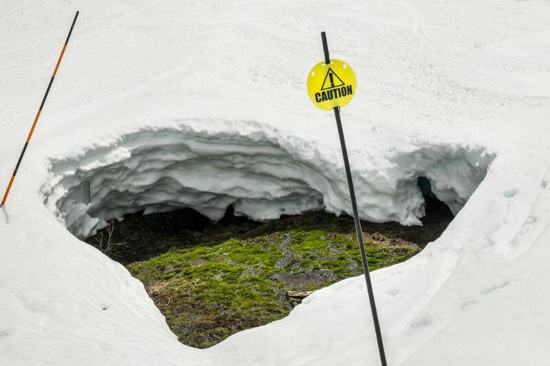 En temporadas con poca nieve, la gente hace menos viajes a las montañas, lo que tiene un gran impacto en las economías locales.