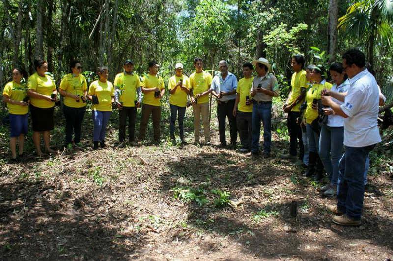 El objetivo de este proceso de formación es construir una gobernanza forestal en las comunidades indígenas para encontrar un modelo de desarrollo sostenible.
