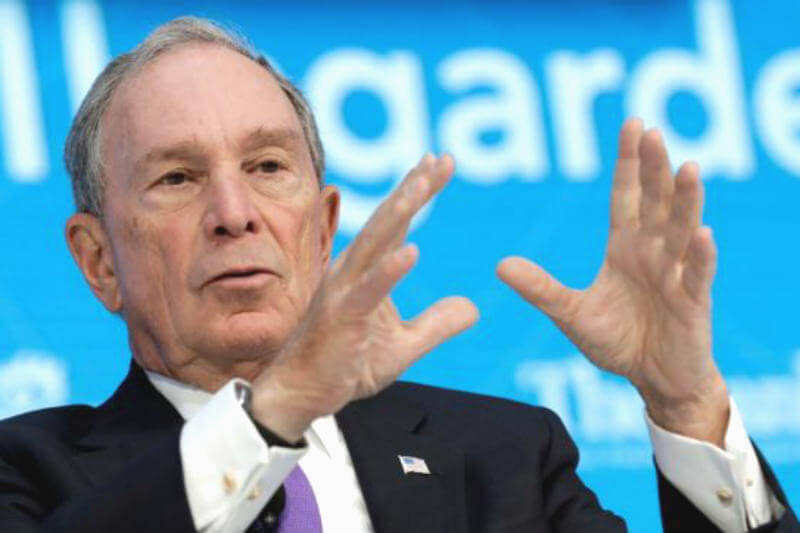 El ex alcalde de Nueva York dijo que pagará esa suma para cubrir parte del compromiso estadounidense con el acuerdo climático.