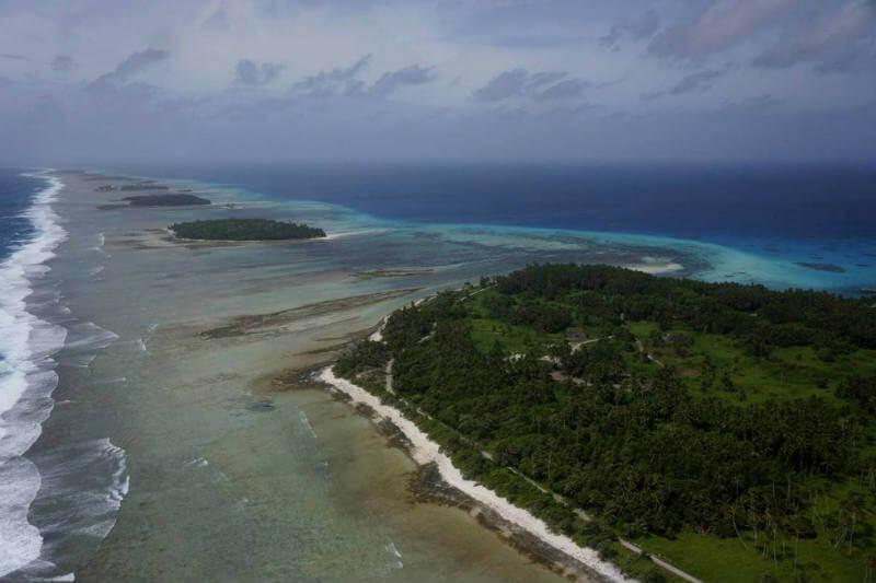 El aumento del nivel del mar contaminará los acuíferos de islotes y atolones del Pacífico y el Índico.