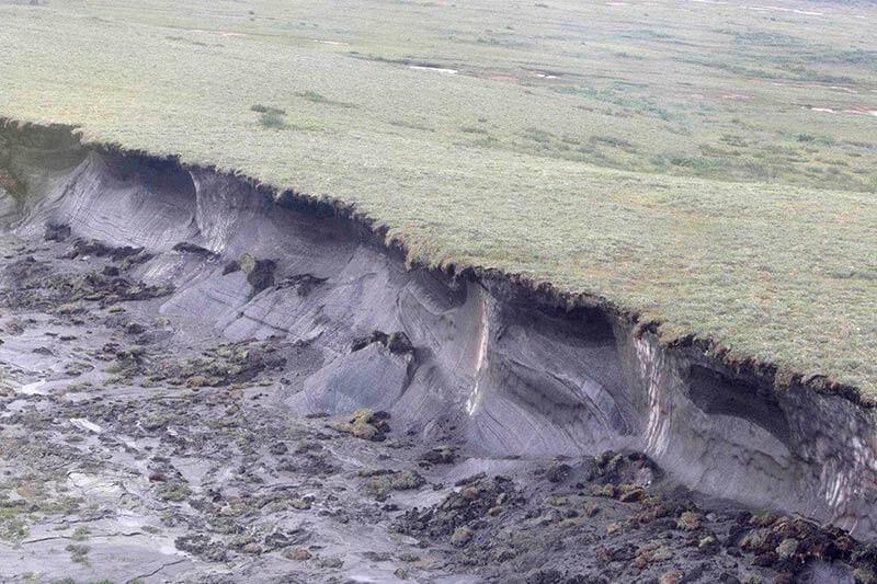 Estudio sugiere que liberaciones de metano podrían ser más frecuentes a medida que se derrite el permafrost ártico, causando más explosiones de calentamiento.